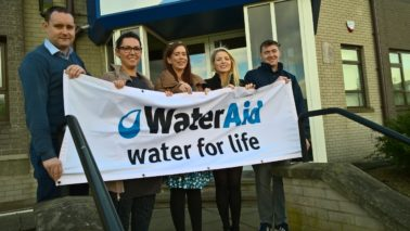 Supporting WaterAid