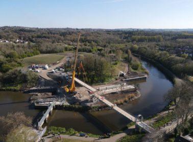 Charles Brand Group Bridges History with second Bridge Lift at Lagan Gateway