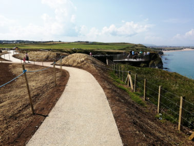 Special Guests attend Magheracross Viewpoint Opening