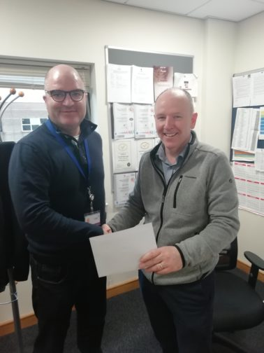 Charles Brand Director Celebrates 25 Years with the Company